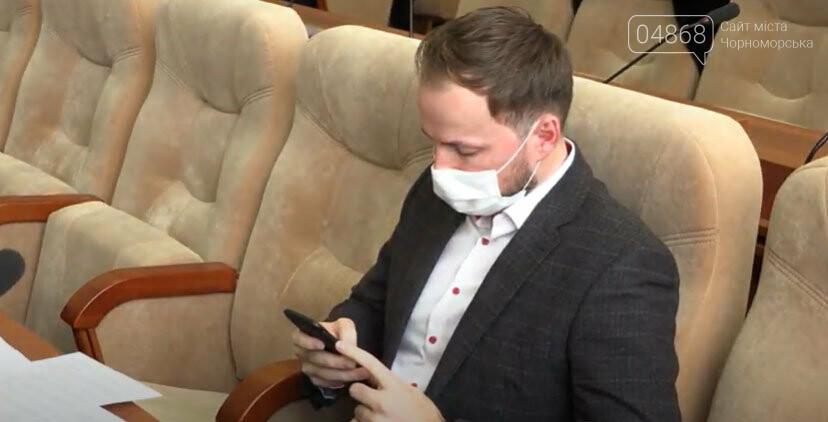 Беззаконие на сессии городского совета в Черноморске (+видео), фото-1