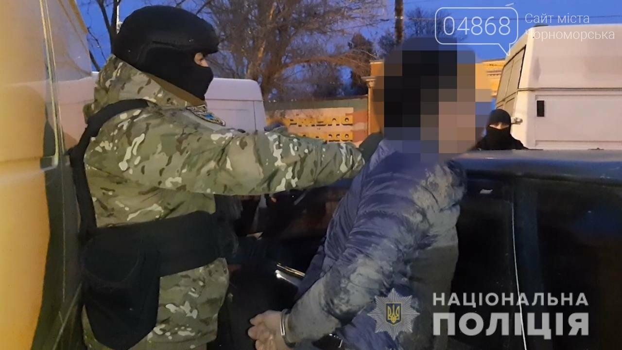 На Привозе задержан ранее судимый рэкетир, фото-1