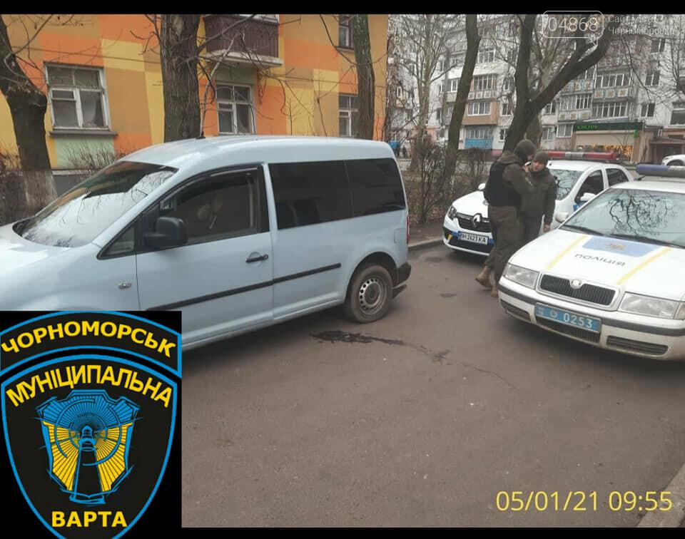 В Черноморске задержали пьяного водителя, фото-1