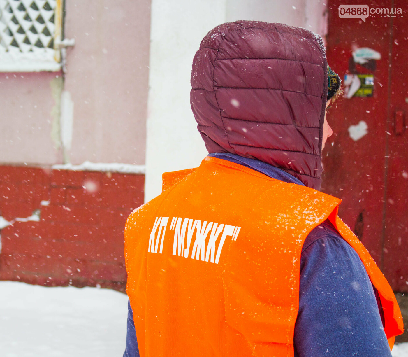 Выпало больше 10 см осадков: как в Черноморске снег убирали, фото-7