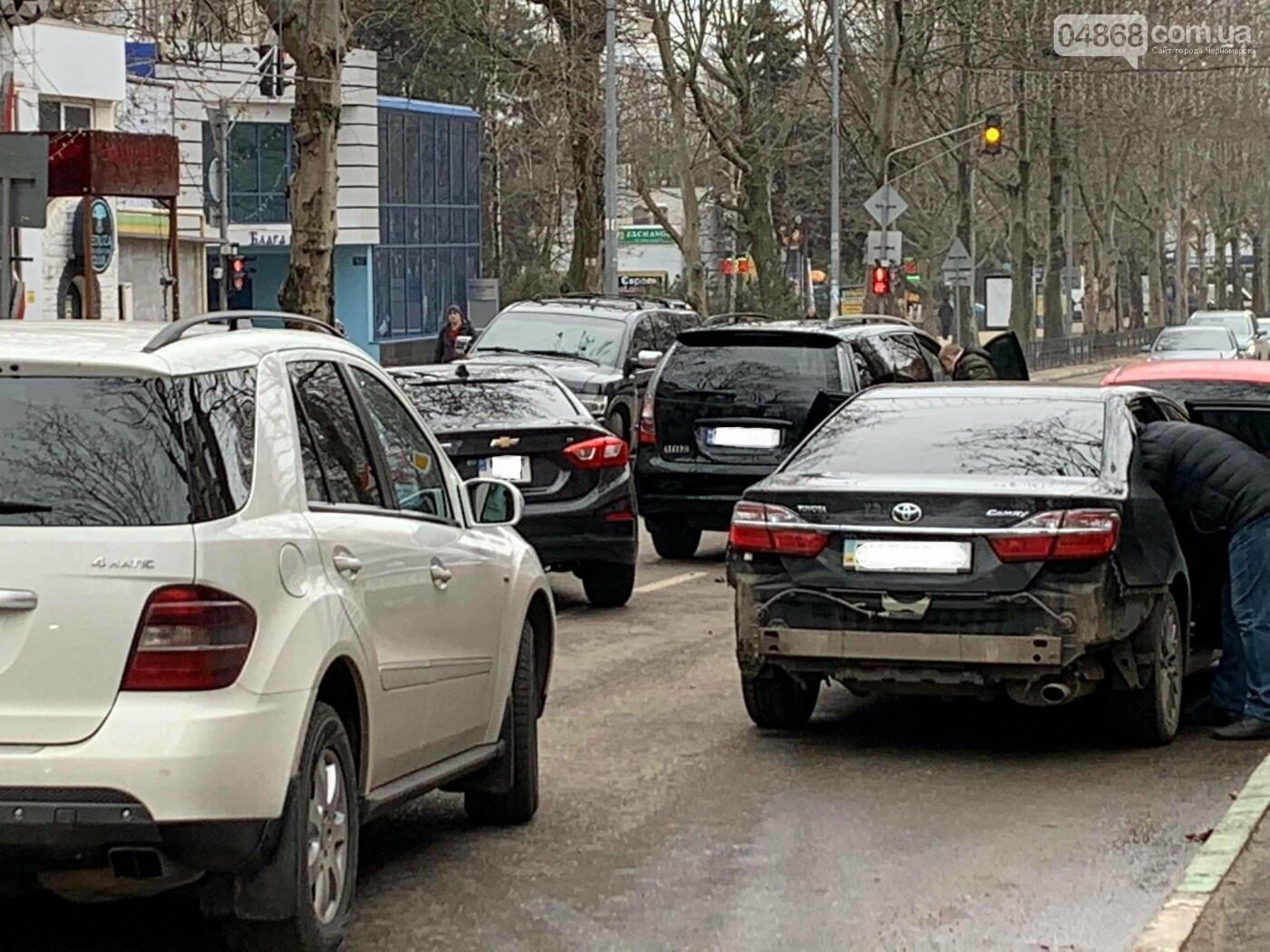 В Черноморске произошло ДТП, фото-1