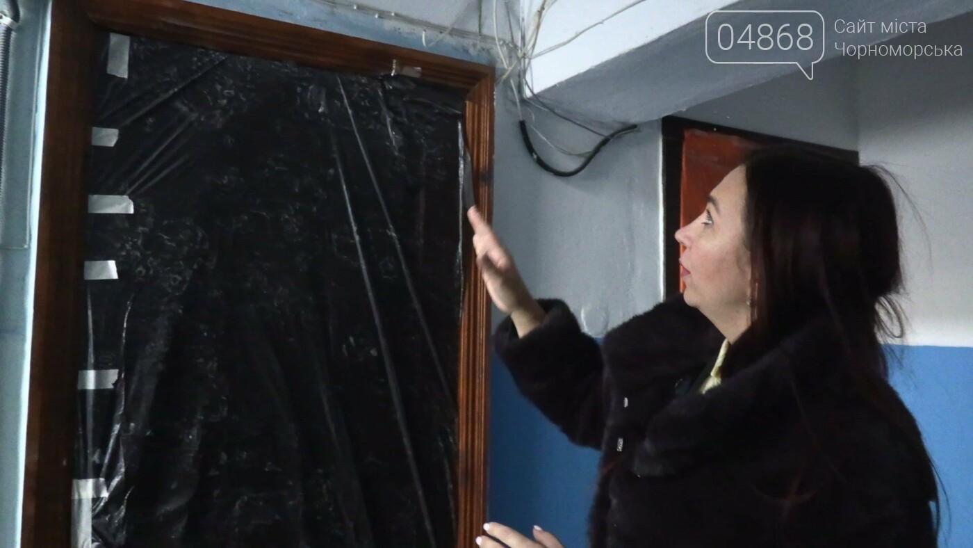 В полувековом доме Черноморска ведется ремонт (видео), фото-3