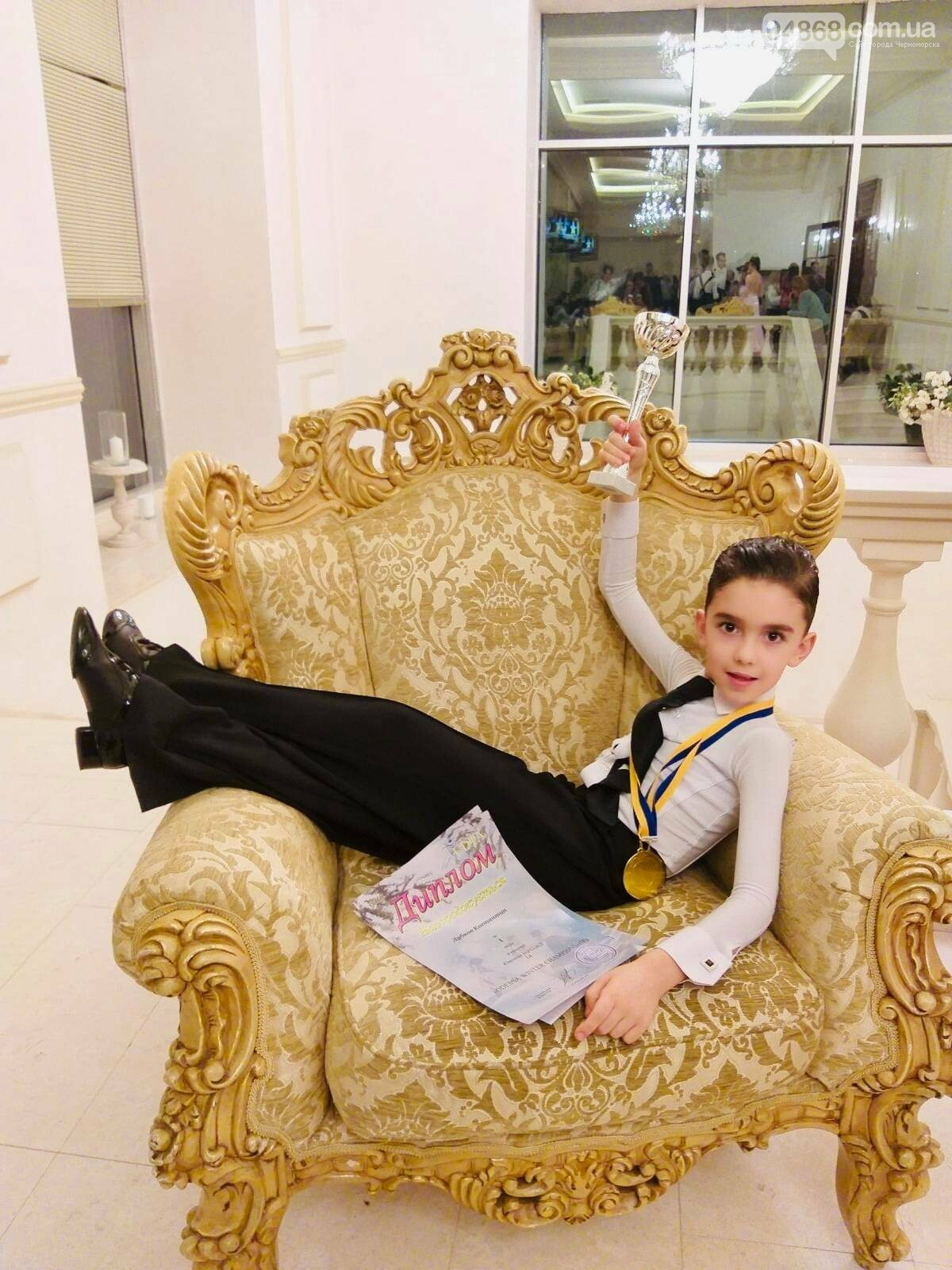 Танцоры из Черноморска заняли призовые места на турнире по бальным танцам, фото-3
