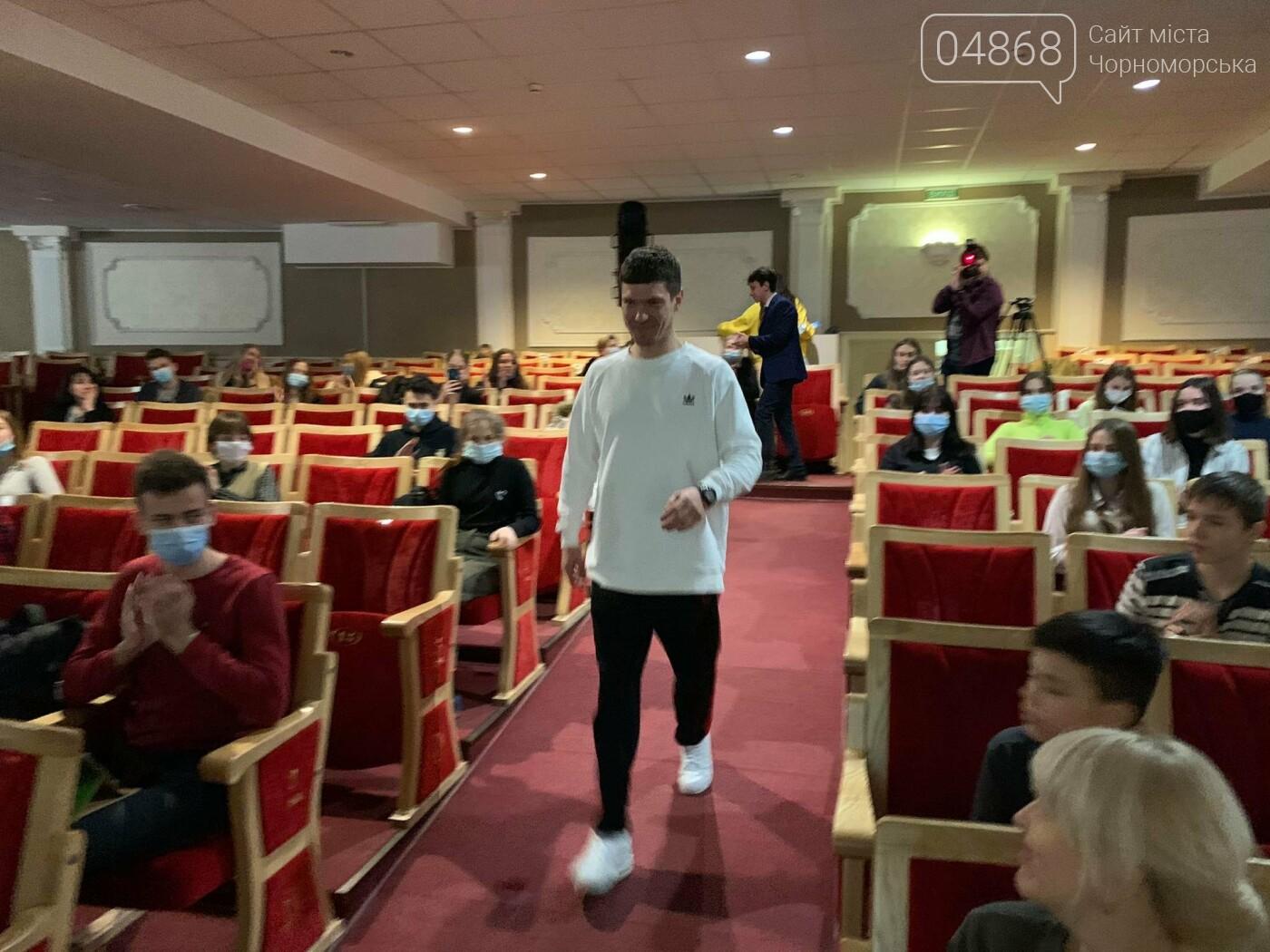 О жизни, о спорте и многом другом: Игорь Кузьменко ответил на вопросы юных лидеров (видео), фото-5