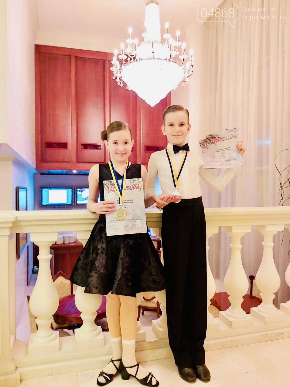 Танцоры из Черноморска заняли призовые места на турнире по бальным танцам, фото-4