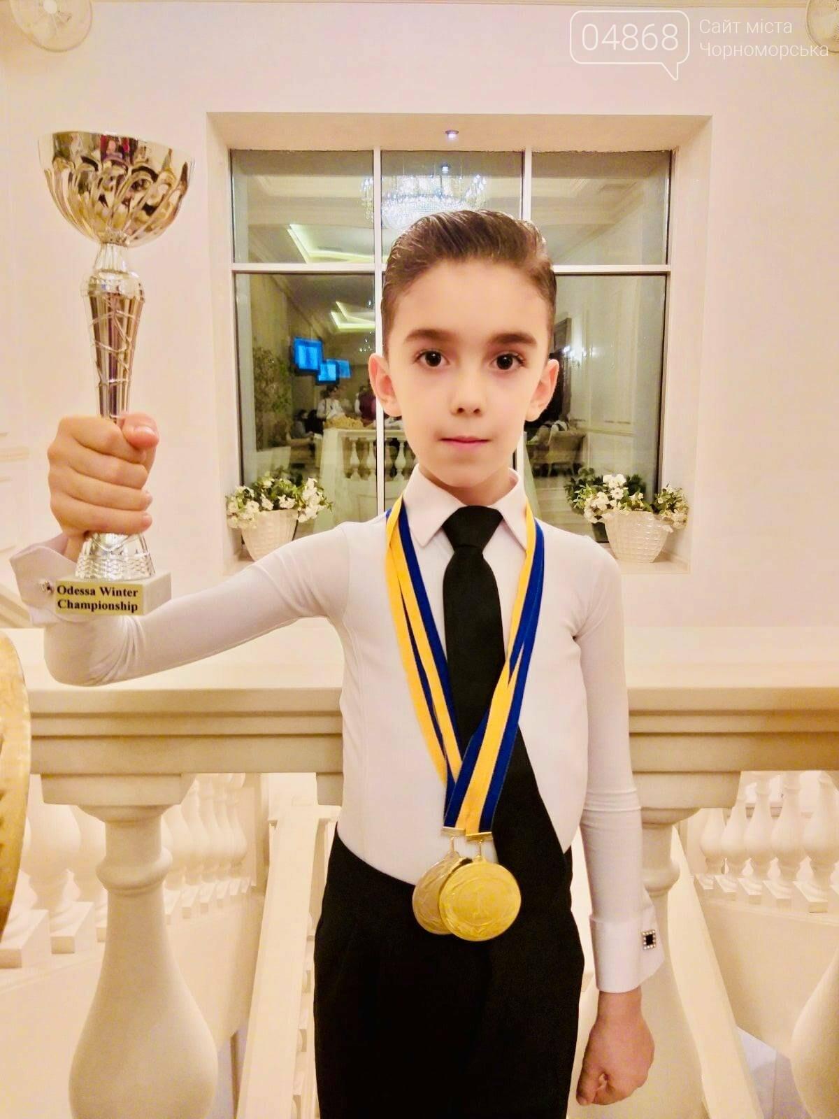 Танцоры из Черноморска заняли призовые места на турнире по бальным танцам, фото-5