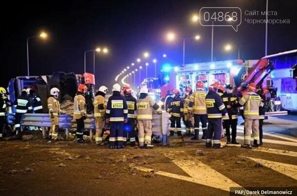 В результате ДТП в Польше погибло 6 украинцев, фото-1