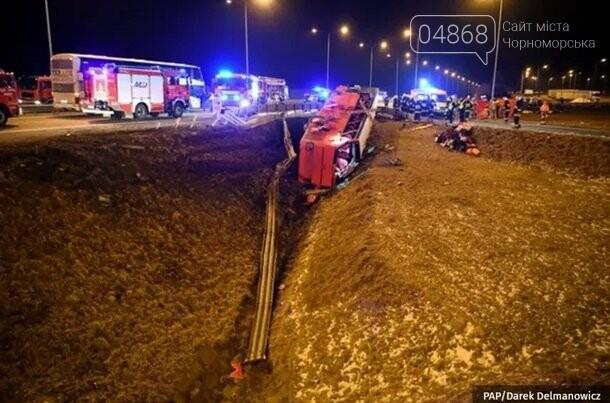 В результате ДТП в Польше погибло 6 украинцев, фото-4