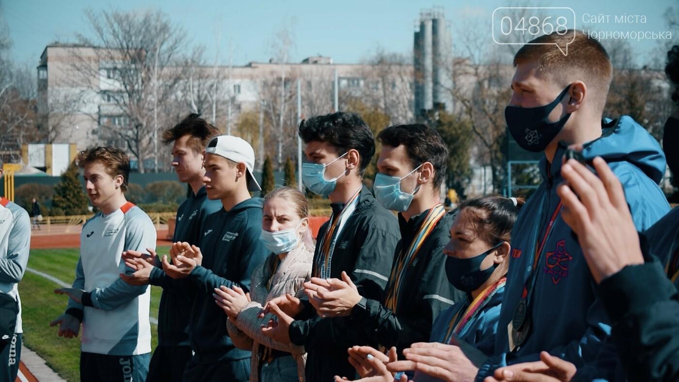 Город талантов: в Черноморске наградили юных спортсменов (видео), фото-3