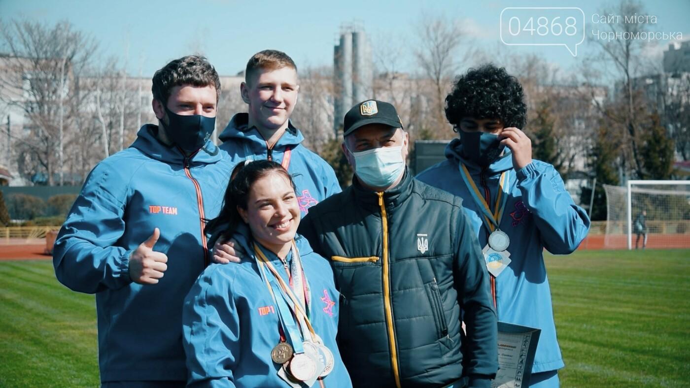 Город талантов: в Черноморске наградили юных спортсменов (видео), фото-5