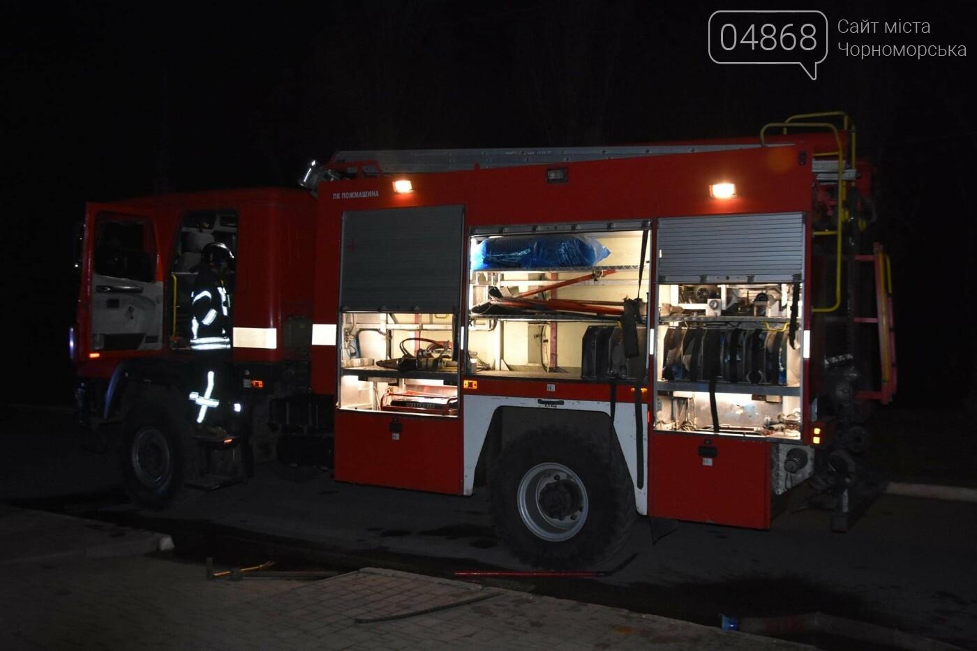 В результате пожара в санатории на Куяльнике пострадал мужчина с инвалидностью, фото-1