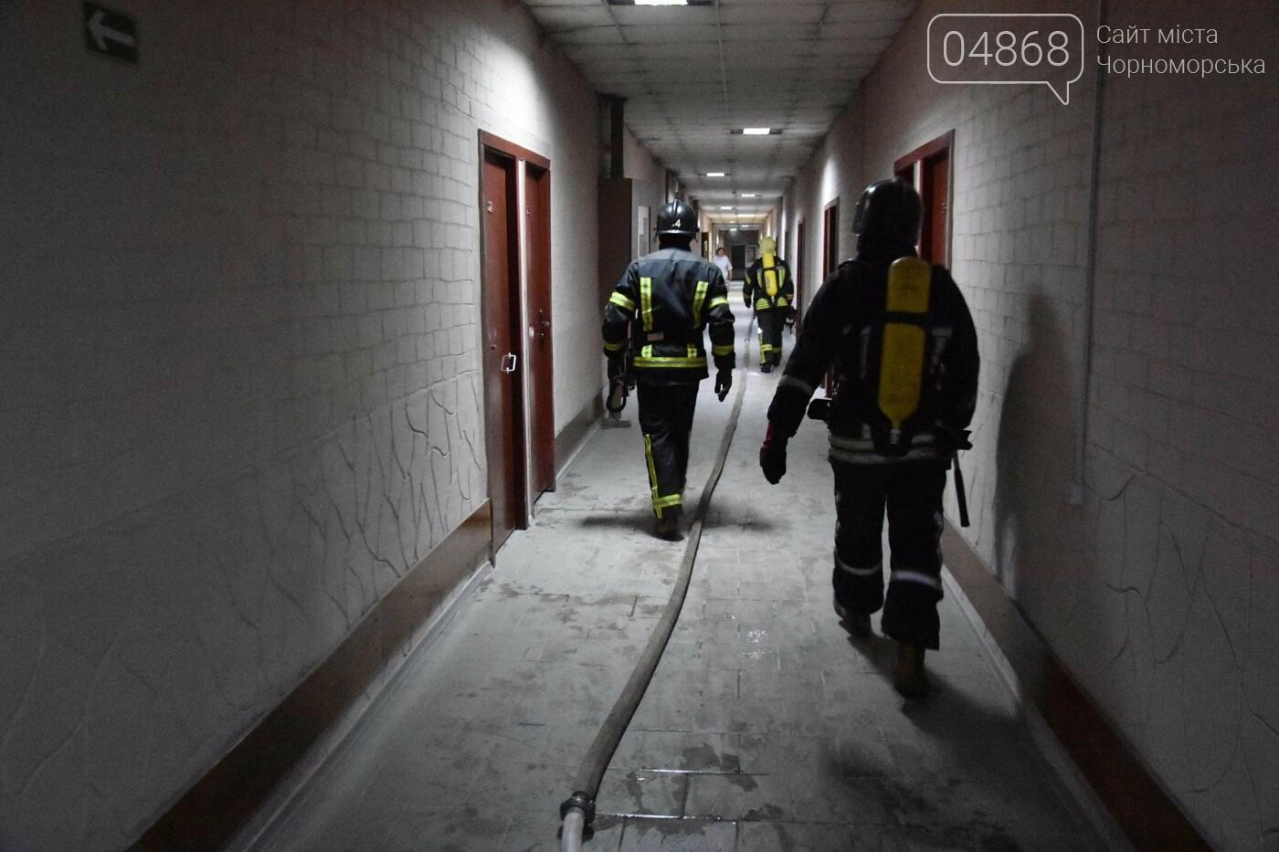В результате пожара в санатории на Куяльнике пострадал мужчина с инвалидностью, фото-2