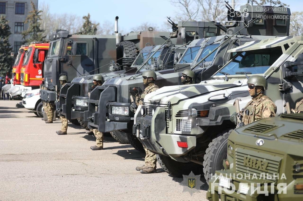 Правоохранителям Одесской области провели инструктаж перед предстоящими праздниками, фото-5