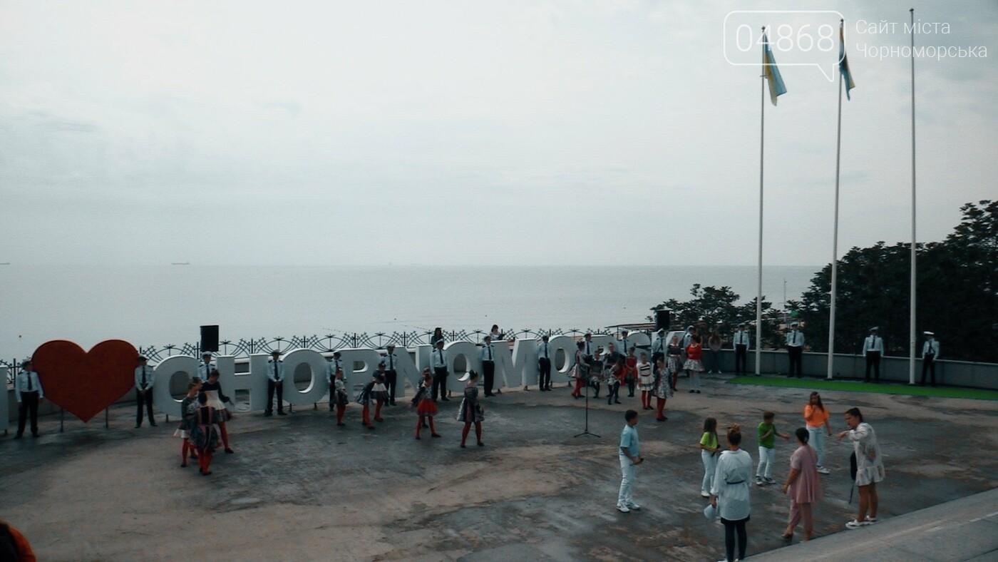 В Черноморске состоялась торжественная церемония поднятия Голубого флага, фото-4