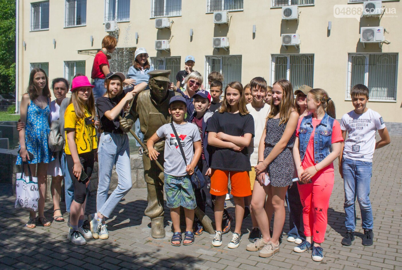 Черноморские школьники посетили музей КП «ГУЖКХ», фото-1