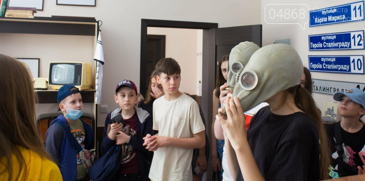 Черноморские школьники посетили музей КП «ГУЖКХ», фото-3