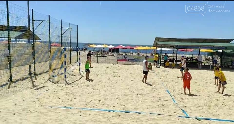 Черноморские спортсмены приняли участие в чемпионате Украины по пляжному гандболу, фото-2