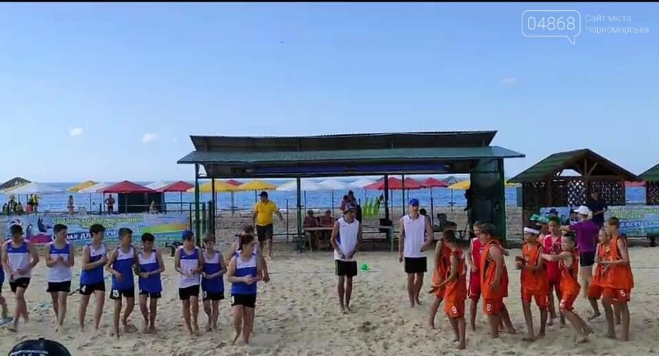 Черноморские спортсмены приняли участие в чемпионате Украины по пляжному гандболу, фото-5