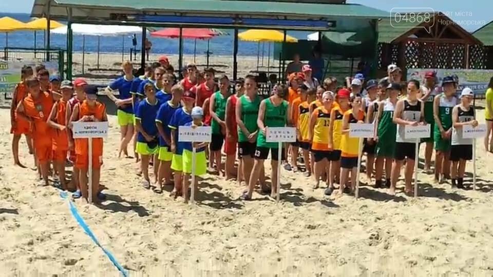 Черноморские спортсмены приняли участие в чемпионате Украины по пляжному гандболу, фото-6
