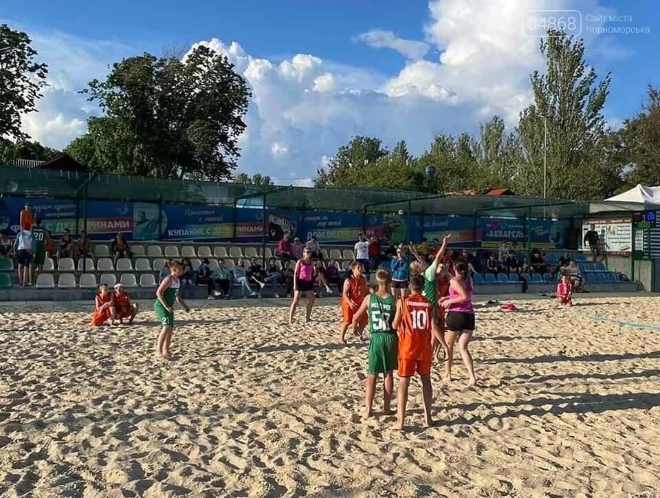 Черноморские спортсмены приняли участие в чемпионате Украины по пляжному гандболу, фото-7