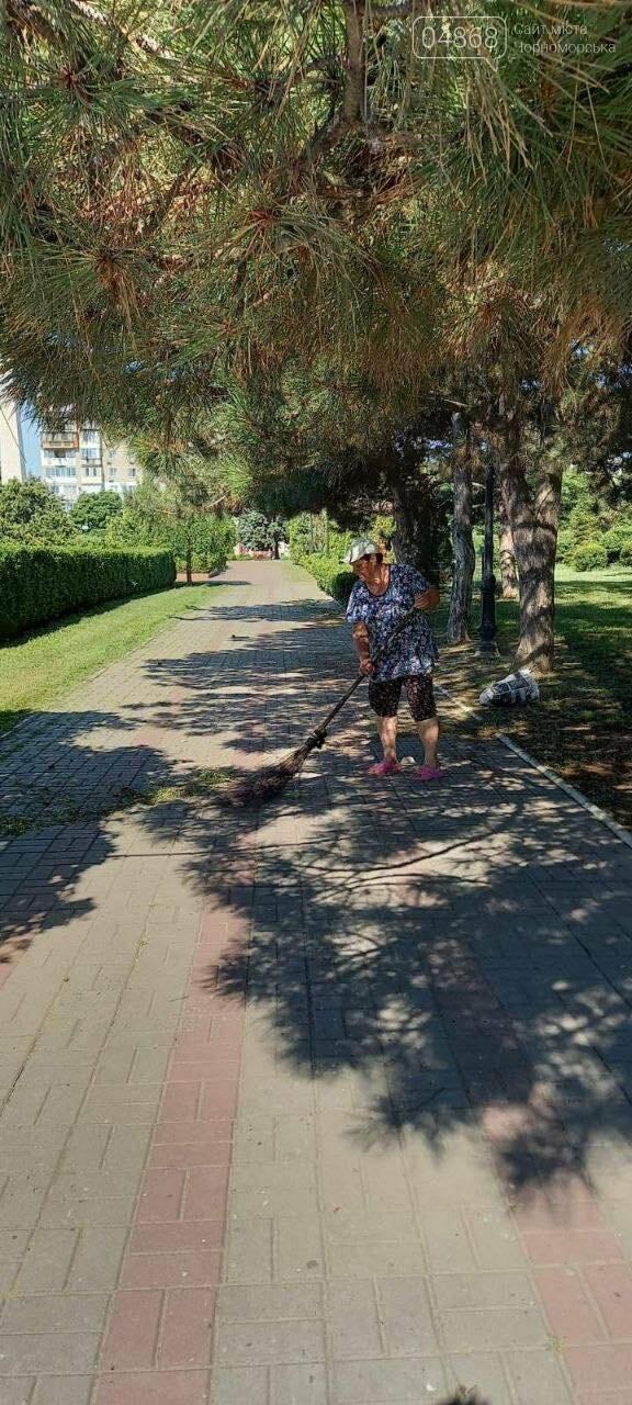 В Черноморске «Зеленхоз» проводит обрезку декоративных кустов, фото-6