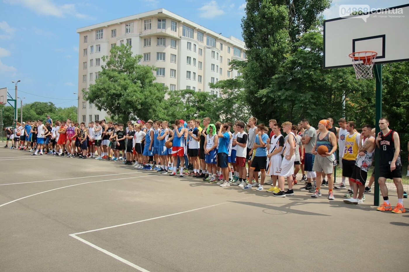В Черноморске прошёл турнир по баскетболу «Street Game Chernomorsk», фото-5