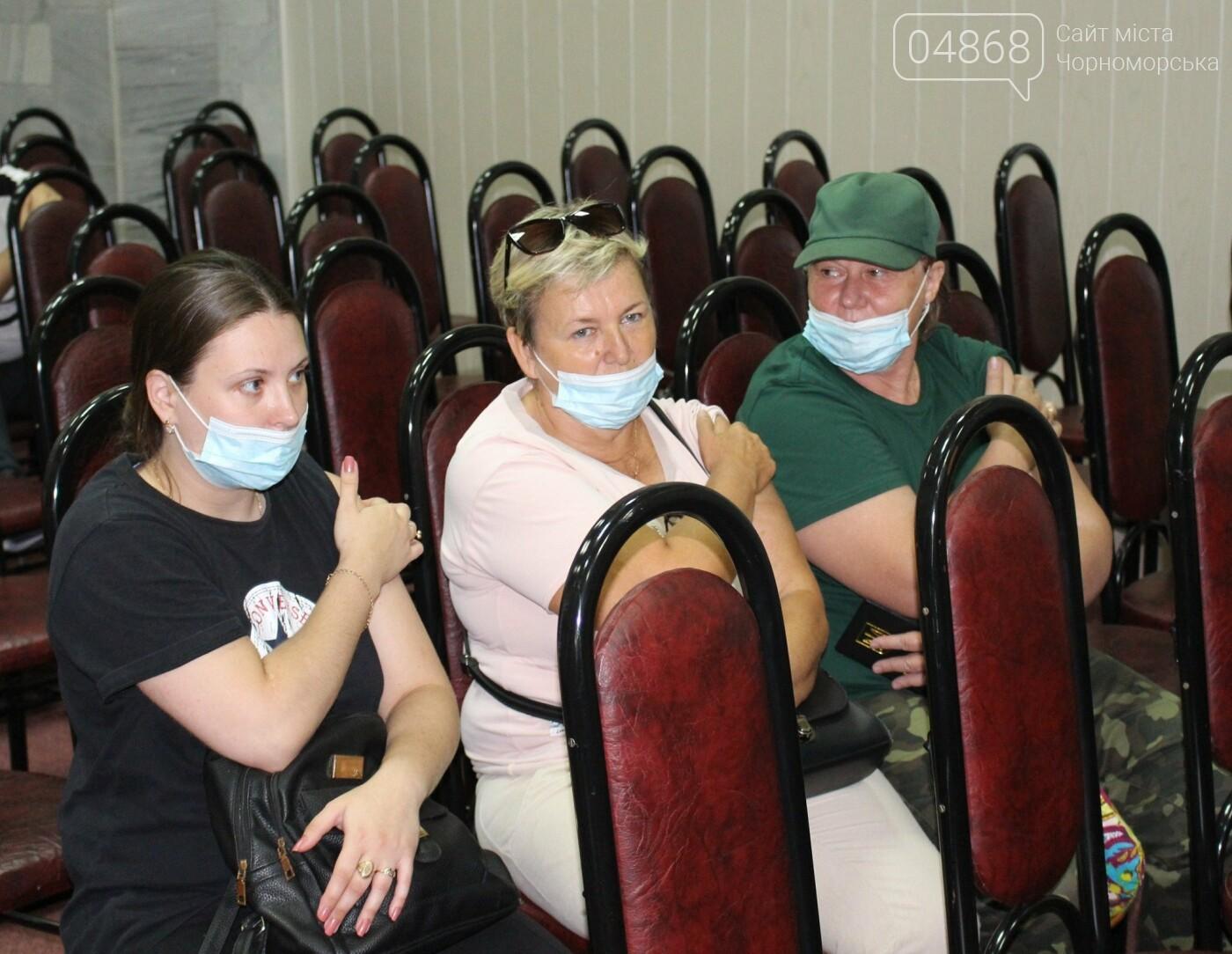 В Черноморске продолжается вакцинация работников Администрации морского порта, фото-3