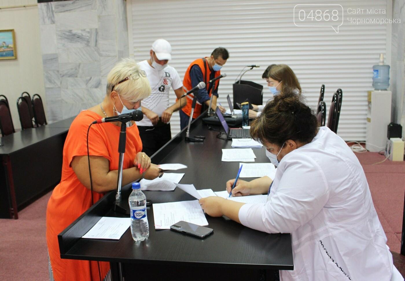 В Черноморске продолжается вакцинация работников Администрации морского порта, фото-6