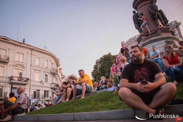 Гала-концерт на Потёмкинской: тысячи зрителей, отличная организация и «душевная» атмосфера. Фото, видео, фото-2