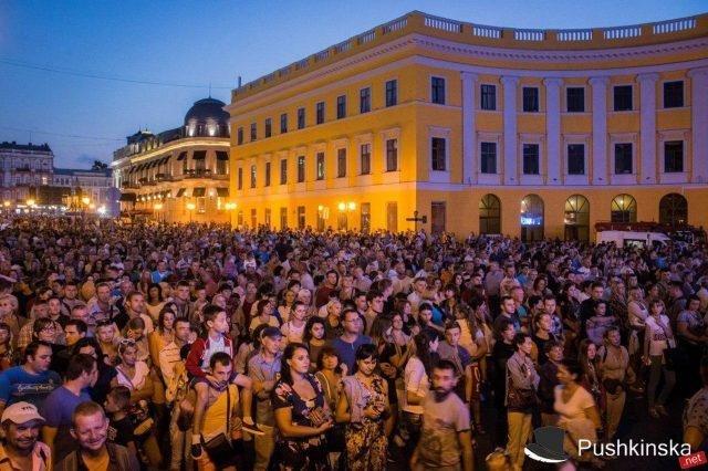 Гала-концерт на Потёмкинской: тысячи зрителей, отличная организация и «душевная» атмосфера. Фото, видео, фото-4