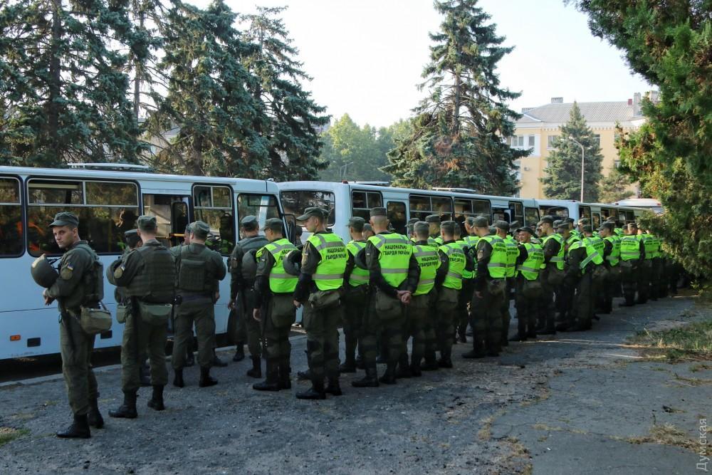 «Дело 2 мая»: суд Черноморска оцеплен Нацгвардией — обвиняемым будут зачитывать приговор (фото), фото-2