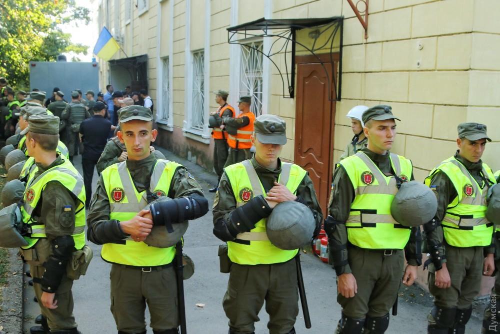 «Дело 2 мая»: суд Черноморска оцеплен Нацгвардией — обвиняемым будут зачитывать приговор (фото), фото-1