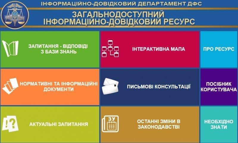 Информационный сервис фискальной службы в помощь налогоплательщикам, фото-1
