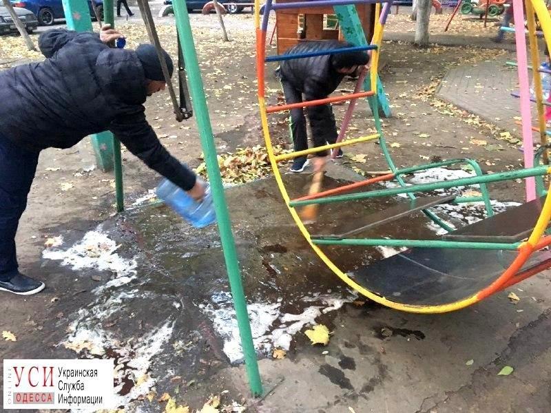 В Одессе на детской площадке погиб ребенок (фото, видео), фото-1