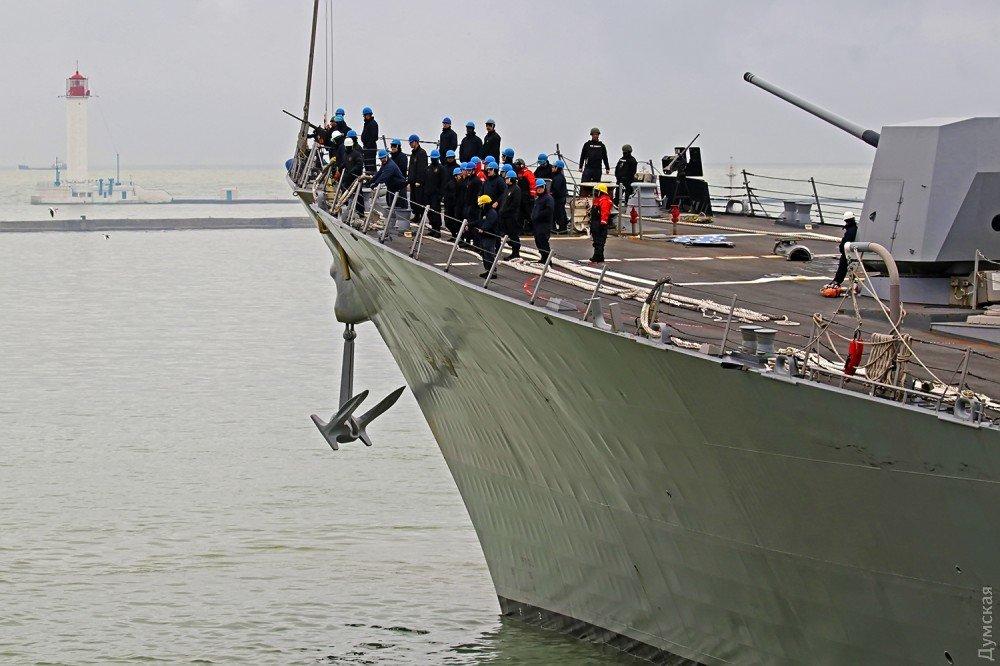 Эсминец ВМС США «James E.Williams» зашел в Одесский порт, фото-3