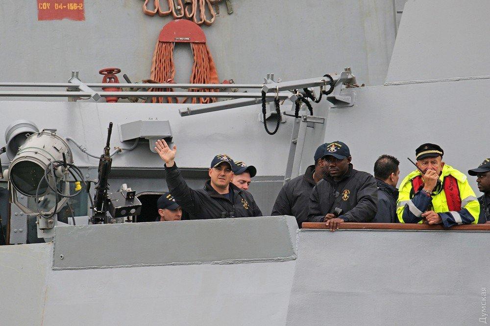 Эсминец ВМС США «James E.Williams» зашел в Одесский порт, фото-4
