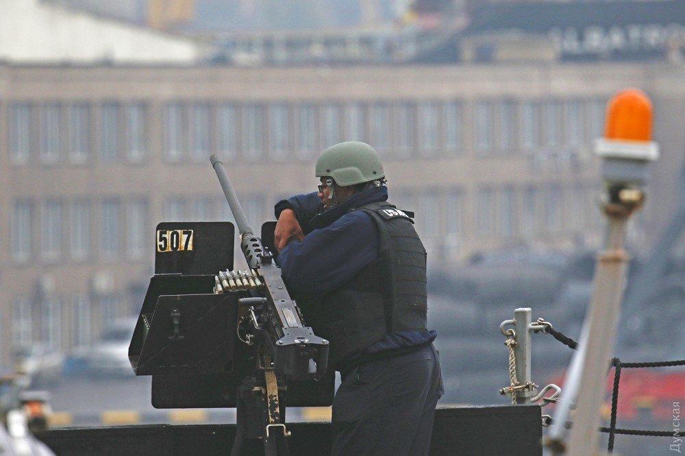 Эсминец ВМС США «James E.Williams» зашел в Одесский порт, фото-7
