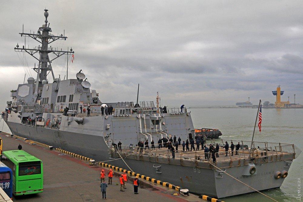 Эсминец ВМС США «James E.Williams» зашел в Одесский порт, фото-2