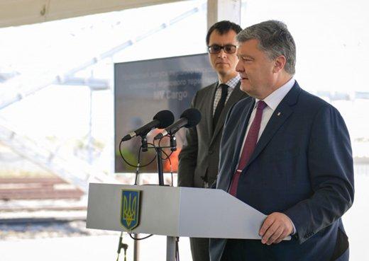 Подробности визита Петра Порошенко в Одесскую область, фото-1