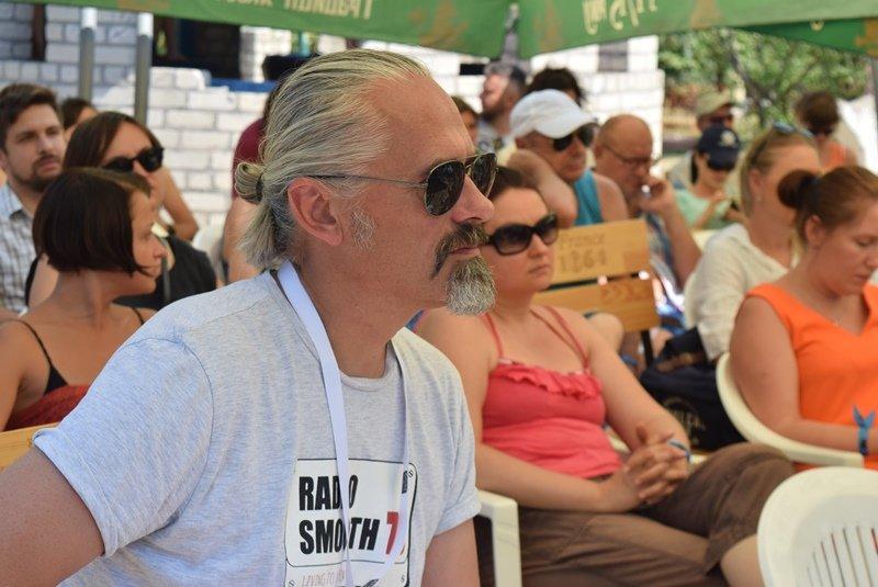 «С широко закрытыми глазами»: на сцене Jazz&Blues Cafe в Черноморске Алексей Коган открывал миры прекрасной музыки, фото-8