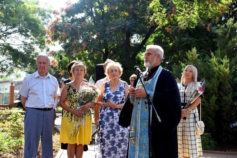 Сегодня в Черноморске открыли памятник Льву Нагаеву, фото-7
