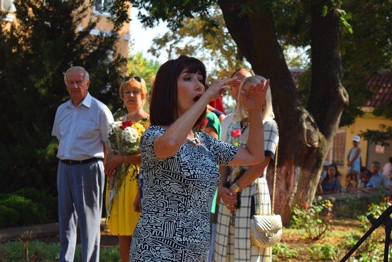 Сегодня в Черноморске открыли памятник Льву Нагаеву, фото-4