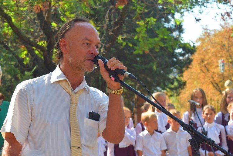 Сегодня в Черноморске открыли памятник Льву Нагаеву, фото-2