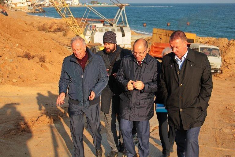 Черноморск с рабочим визитом посетил губернатор области Максим Степанов, фото-2