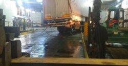 ДТП в Черноморском порту: груженная фура съехала с аппарели , фото-4
