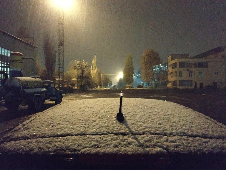 С первым снегом, Черноморск!, фото-14