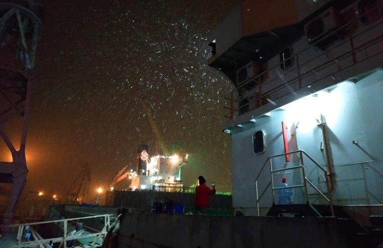 С первым снегом, Черноморск!, фото-15