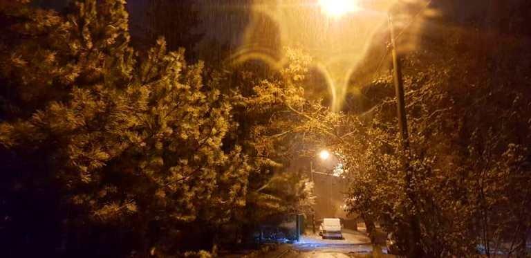 С первым снегом, Черноморск!, фото-16