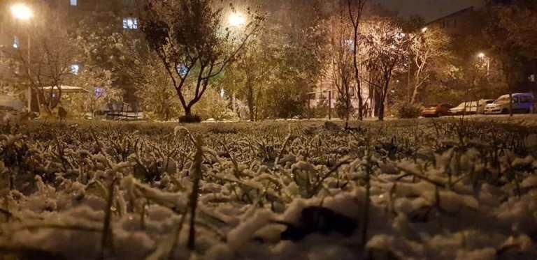 С первым снегом, Черноморск!, фото-28