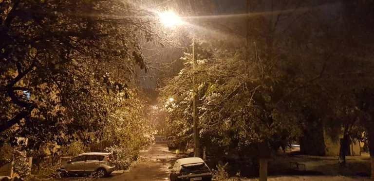 С первым снегом, Черноморск!, фото-29